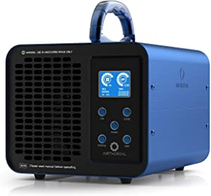 Airthereal MA10K-PRODIGI Digital Ozone Generator 10,000mg/hr High Capacity Odor Remover Ionizer - Adjustable Settings for Any Size Room, Fireproof Tested by SGS,Blue