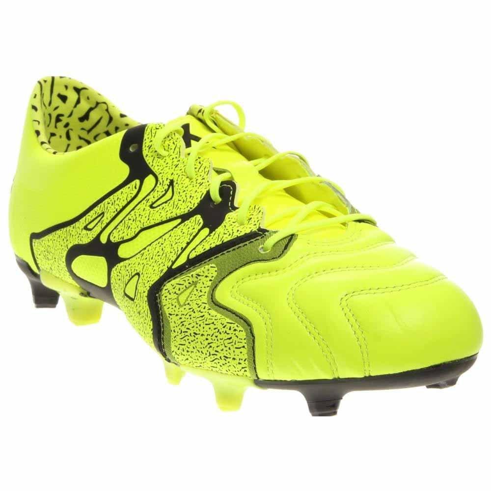 adidas X 15.1 FG/AG Soccer Cleats (Solar Yellow, Black) B00Y8Q2WDA 7 D(M) US|Solar Yellow/Black/Frozen Yellow
