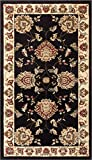 """Well Woven Timeless Abbasi Black Traditional Area Rug 2'3"""" X 3'11"""" is the perfect blend of quality and class. Rooted firmly in traditional designs, Timeless pays homage to the classic Oriental, Arabic, and European styles. Detailed floral med..."""