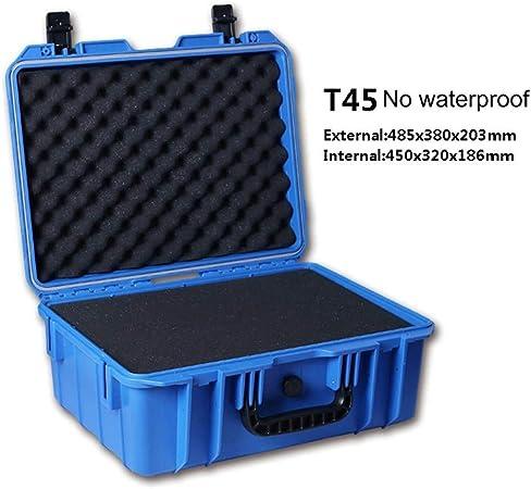 Caja herramientas Sellada Equipo Caja de Herramientas de Seguridad de la cámara Caja de herramientas Maleta Impacto caja de herramienta resistente a prueba de golpes Dry Box Con Espuma caja de herrami: