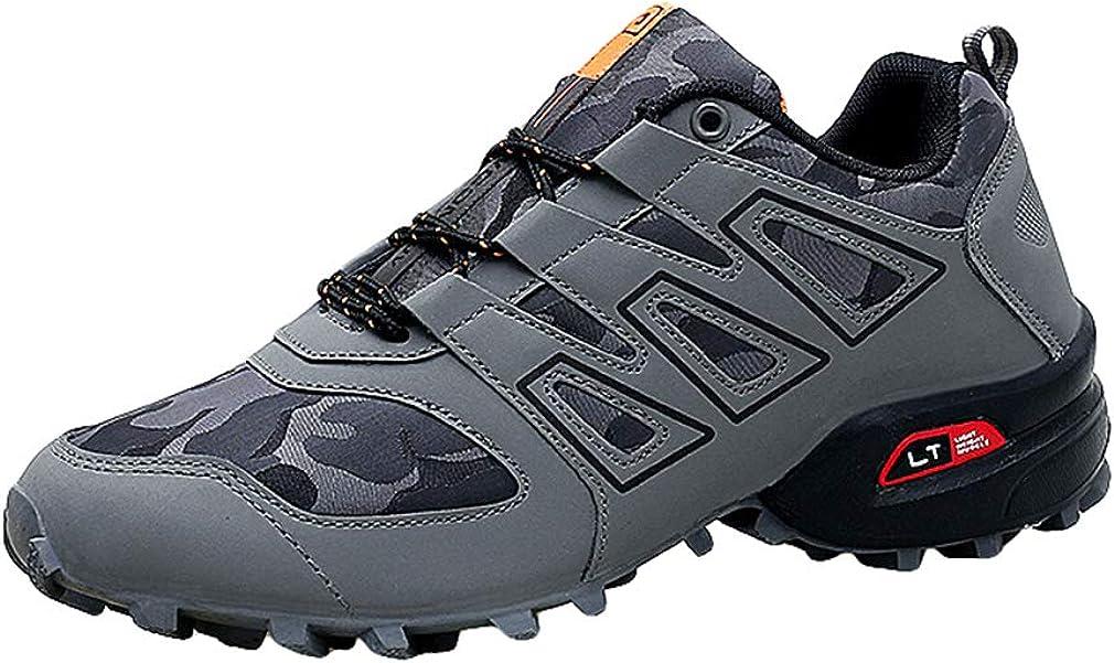 Reflectantes Zapatilla De Deporte Ata para Hombre Arriba Zapatos Planos Ligeros De Ocio para Fitness Entrenamiento Diario Al Aire Libre (Azul/Negro/Gris): Amazon.es: Zapatos y complementos