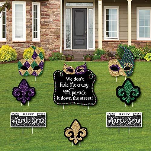 Mardi Gras - Yard Sign & Outdoor