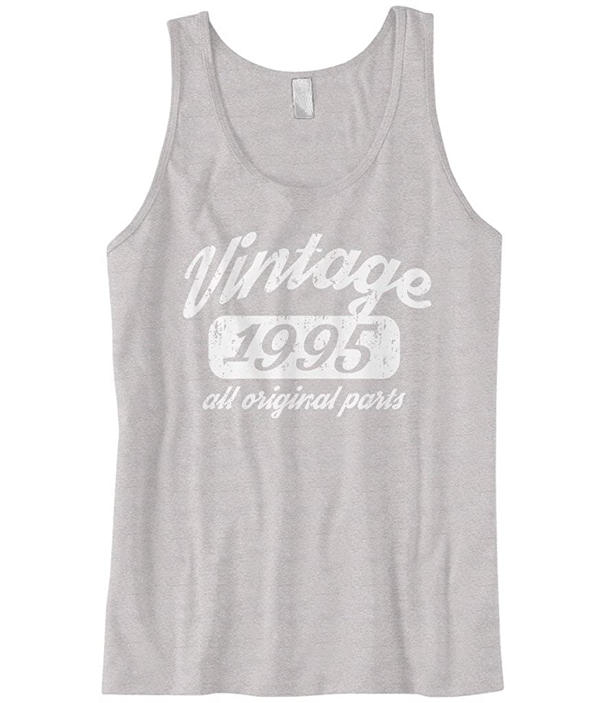 Cybertela Mens 24th Birthday Gift Vintage 1995 All Original Parts Tank Top