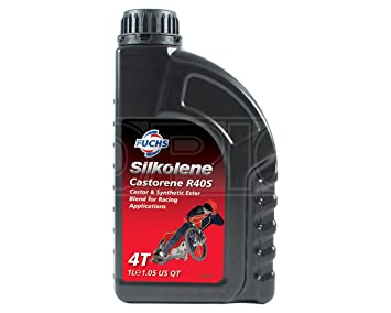Aceite de carreras, sintético mejorado, a base de aceite de ricino de