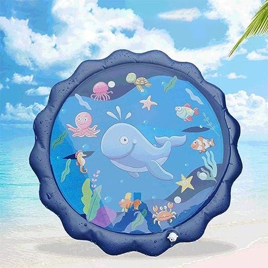 Sprinkler Splash Matte 150cm Sprinklerpad für Kinder //Pet Spray Wasser Spielzeug