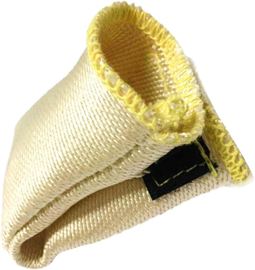 TIG: Dedo Protecci/ón de Calor TIGIEJER Puntas de Soldadura//Trics Guantes de Soldadura Escudo de Calor