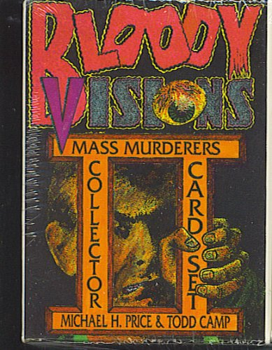 Bloody Visions II Mass Murderers Collector Card Set Shell-Tone