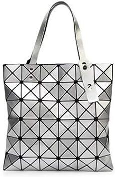 MJFO Sac À Main Sac À Main Bao Bag Femme Plié Géométrique