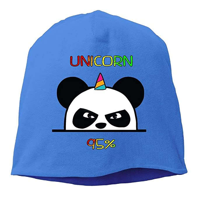 Unicorn Ninja Panda Unisex Knit Hat Soft Stretch Beanies ...