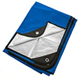 """Arcturus Heavy Duty Survival Blanket - Insulated Thermal Reflective Tarp - 60"""" x 82"""". All-Weather, Reusable Emergency…"""