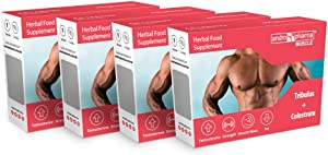 X4 Andropharma Muscle Pills: Increase Mass Lean Muscle Building Body Fat Burner