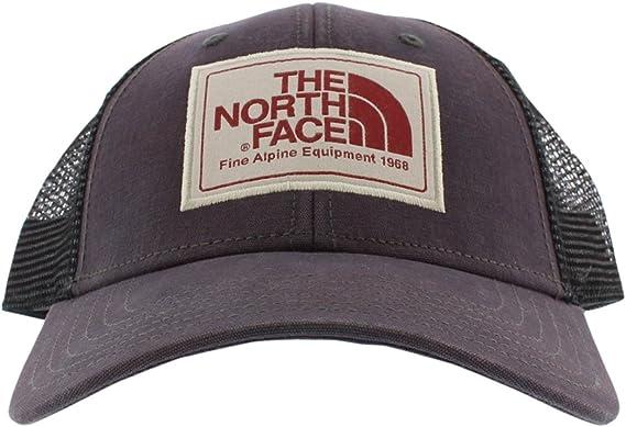 One Size THE NORTH FACE Unisexs Mudder Trucker Cap Weimaraner Brown//TNF Black