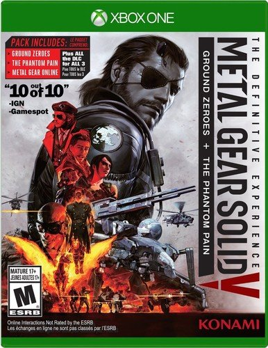 Metal Gear Solid V: The Definitive Experience - Xbox One Standard Edition (Metal Gear Hd Collection Xbox 360 Review)