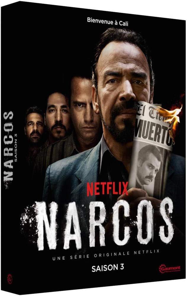 Narcos - Saison 3 [Francia] [DVD]: Amazon.es: Pedro Pascal ...