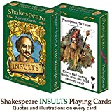 """Shakespeare """"Insults"""" Playing Cards"""