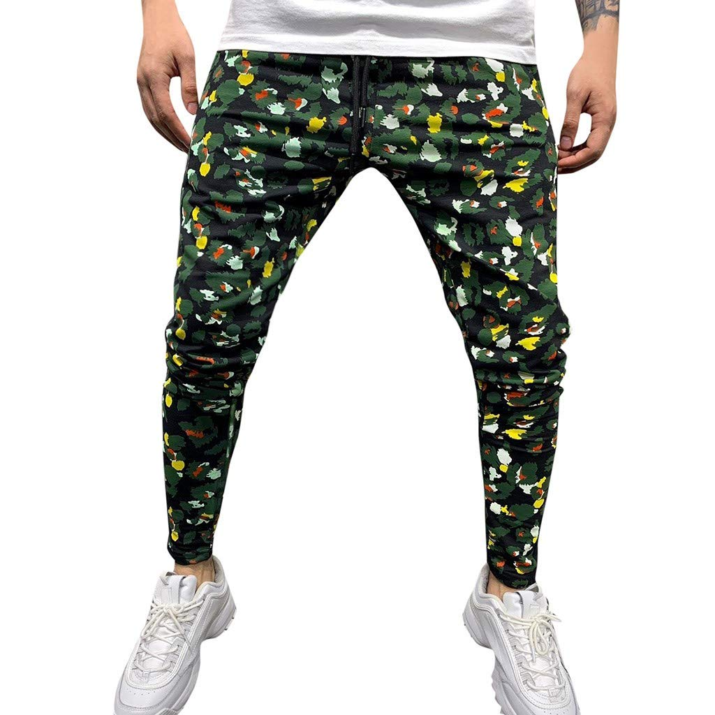 Men's Casual Jogger Pants Slim Fit Stretch Sweatpants Trouser Outdoor Hiking Sweatpants with Pockets M-XXL