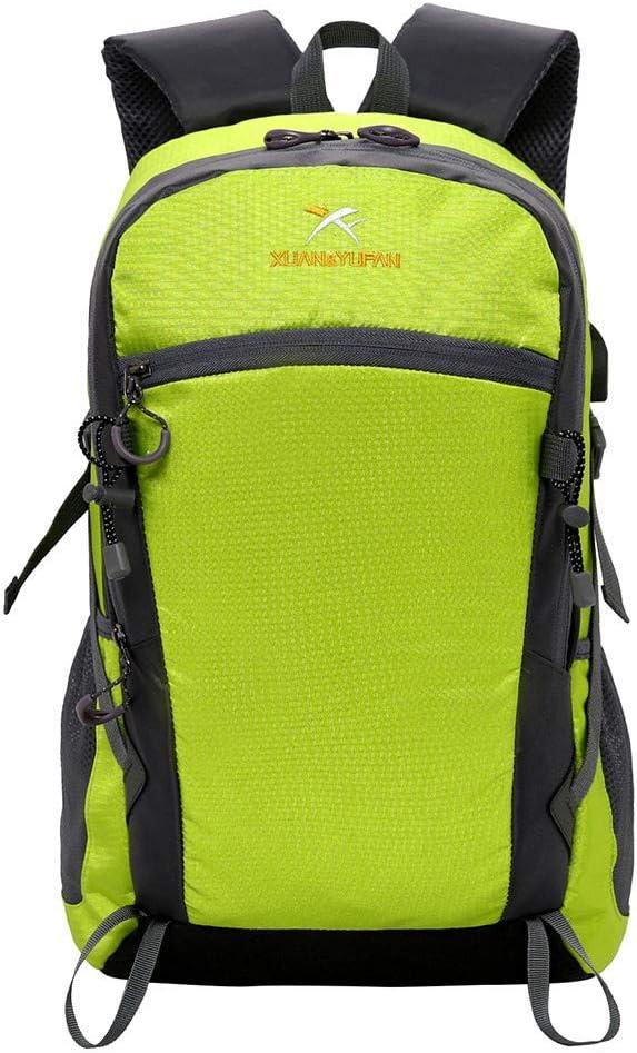 Green HowLoo Travel Backpack Waterproof Outdoor Sport Hiking Camping Daypack Rucksack Bag