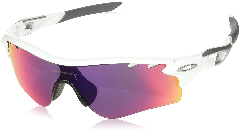 6800685165 Amazon.com  Oakley Men s Radarlock Path OO9181-33 Shield Sunglasses ...