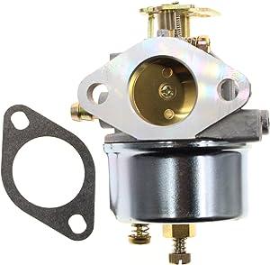 Carbhub 640052 Carburetor for Tecumseh 640349 640054 640058 640058A HMSK80 HMSK85 HMSK90 HMSK100 HSMK110 LH318A LH358SA 8HP 9HP 10HP Snowblower Generator Chipper Shredder - Tecumseh 640052 640054 Carb
