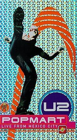 Amazon.com: U2 - Popmart [VHS]: Bono, Adam Clayton, Larry ...