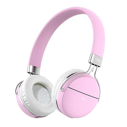Auriculares Bluetooth Tribit XFree Move Auriculares estéreo inalámbricos con micrófono 14 horas de funcionamiento soporta conexión 3 5mm Aux con micrófono y Audio Cable para Movil PC Tablet