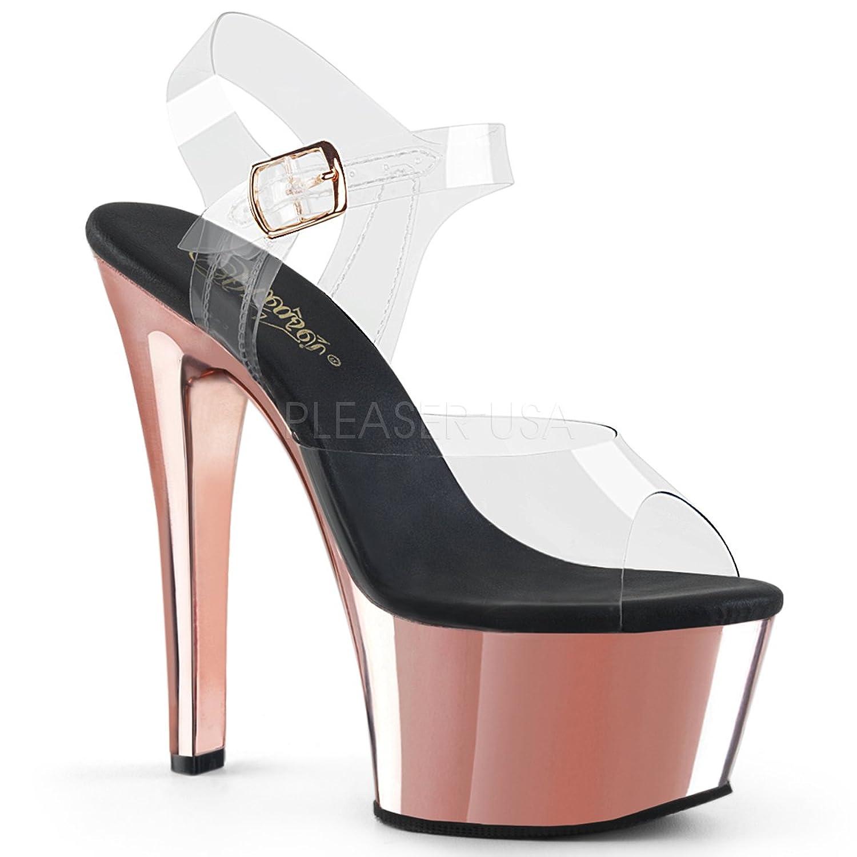 Pleaser Womens ASPIRE-608/C/RGCH Sandals B0758345GD Parent