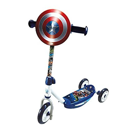 Captain America Scooter Patinete 3 ruedas Niños: Amazon.es ...