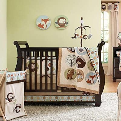 Forest Friends 5 Piece Baby Crib Bedding Set With Bumper By Carters from Carters