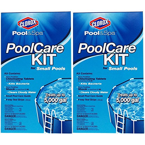 Clorox Pool&Spa 69000CLX Pool Care Kit for Small Pools, Pack of 2 by Clörox