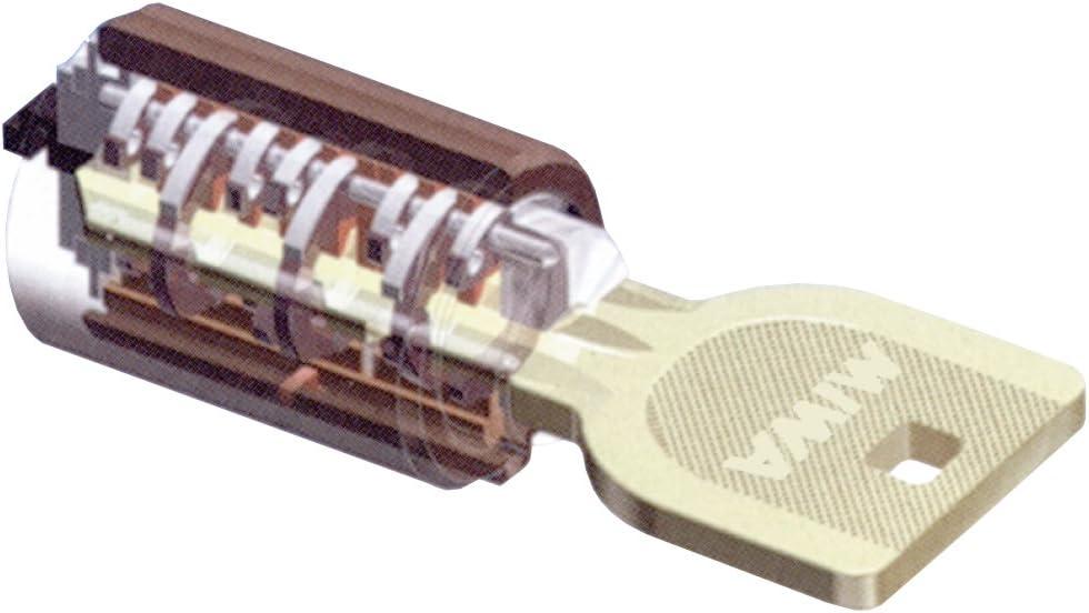 美和ロック U9 HMD-1 内部扉用シリンダー錠 バックセット64ミリ 扉厚33~~42ミリ HMD1-E64~