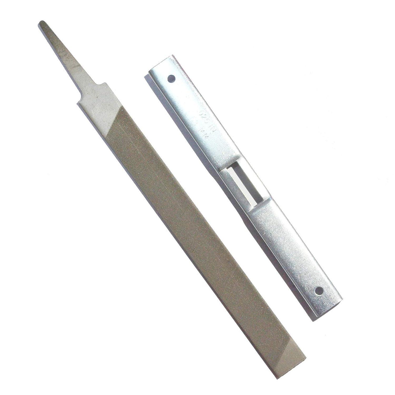 Flat File Kit Chainsaw Sharpener Kit for General Guide to Chainsaw Stihl Sharpening Tool Mumusuki Depth Gauge