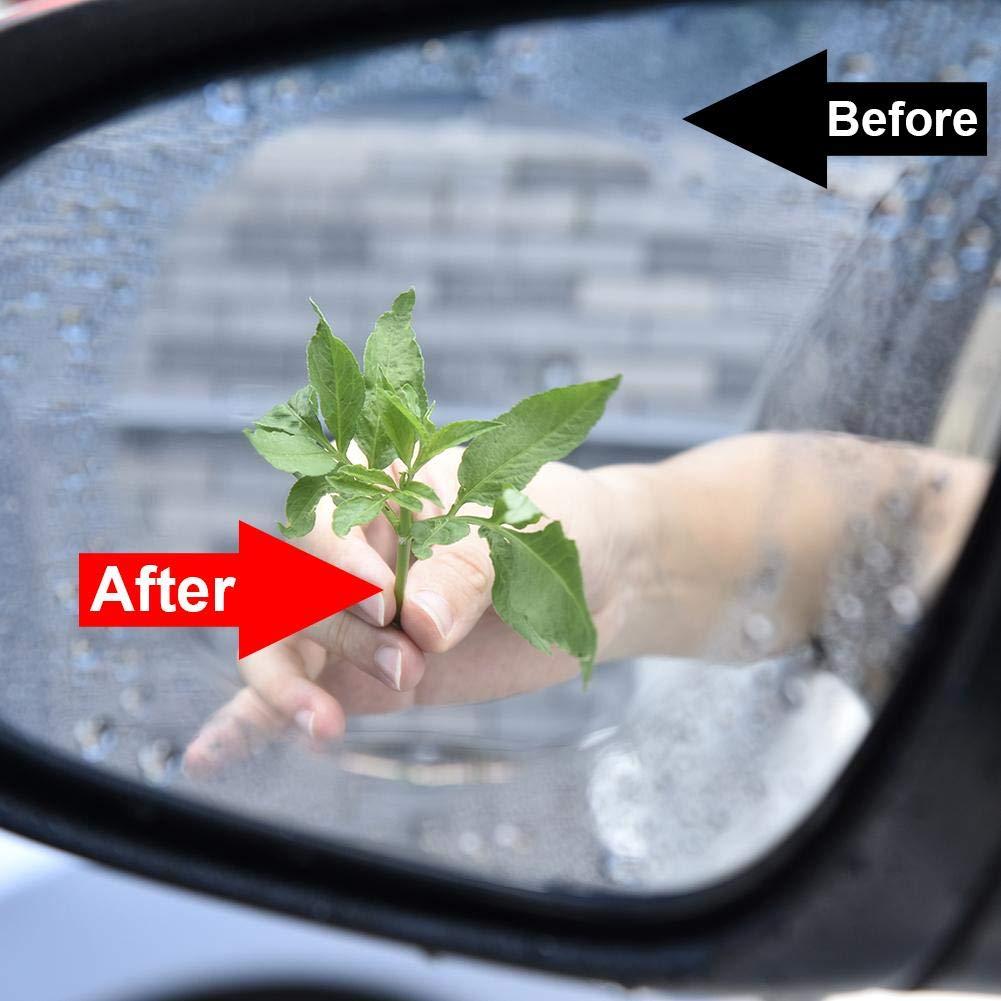 benignpoet EIN Paar Anti Fog Regenschutzbeschichtung Auto R/ückspiegel Schutzfolie Anti Water Mist Films Regenschutz Verschiedene Gr/ö/ßen erh/ältlich