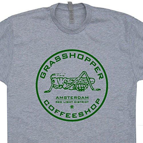 Grasshopper-Marijuana-T-Shirt-Cafe-Amsterdam-T-Shirts-Pot-Leaf-Logo-Weed-420-Tee-Shirtmandude