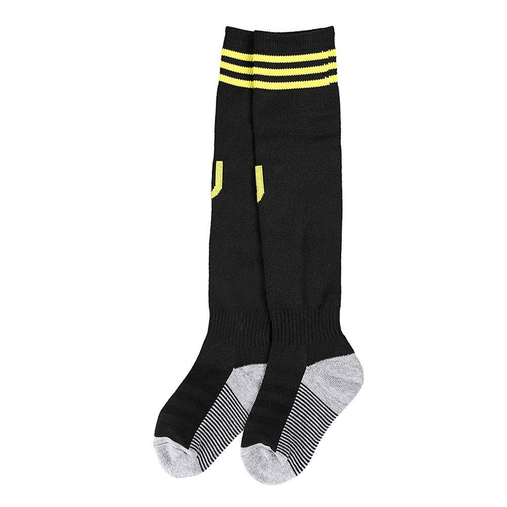 2018-2019 Season Ronaldo #7 Juventus Away Kids /& Youth Soccer Jersey /& Shorts /& Socks Color Black
