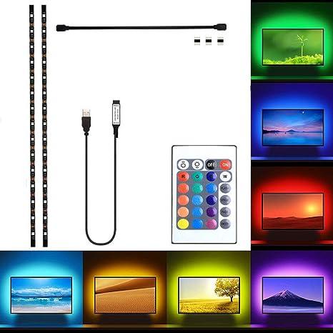 Teepao - Kit de retroiluminación para televisor de 40 a 60 ...