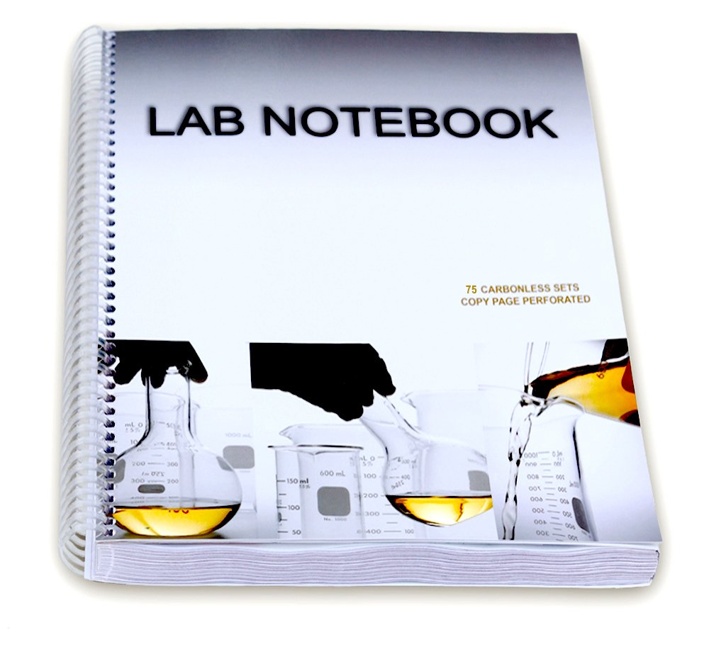 Download Chemistry Lab Notebook 75 Carbonless Duplicating Pages pdf