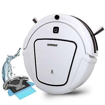 CCYOO D730 Momo 2,0 Robot Aspiradora con Mojado/Seco Trapeador Función Limpia Robot Aspirador,White,EU: Amazon.es: Hogar