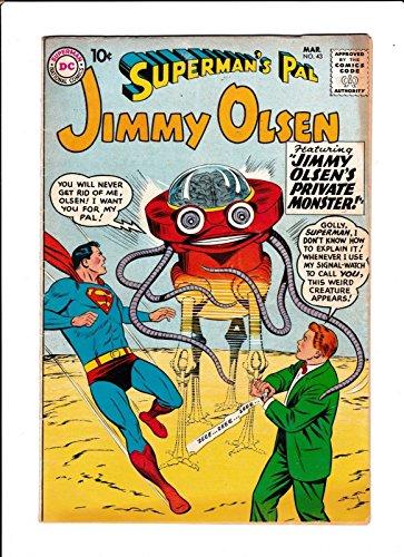 Supermans Pal Jimmy Olsen No 771964  The Colossus Of Metropolis