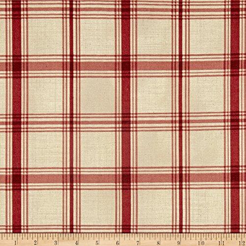 Crimson Plaid - WAVERLY Pantry Plaid Crimson