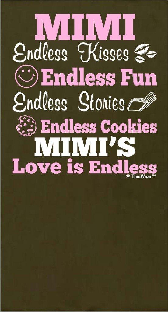 Amazon.com: Día de la Madre Regalo Mimi Love es interminable ...