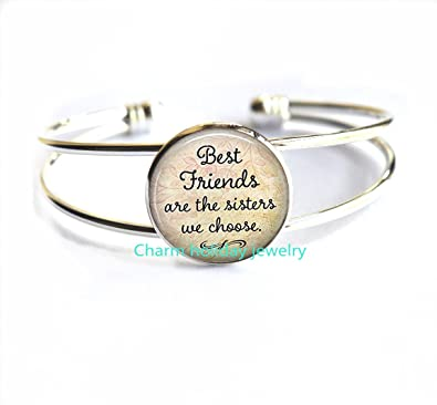 Amazon Com Best Friends Are The Sisters We Choose Friendship