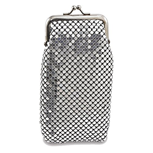 (Black, Silver-tone or Gold-tone Sequin Cigarette Case)