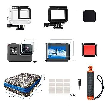 Amazon.com: Kit de accesorios Kitspeed para GoPro Hero 7/6/5 ...