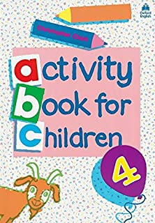 oxford activity books for children book 4 bk 4 - Activity Books For 4 Year Olds