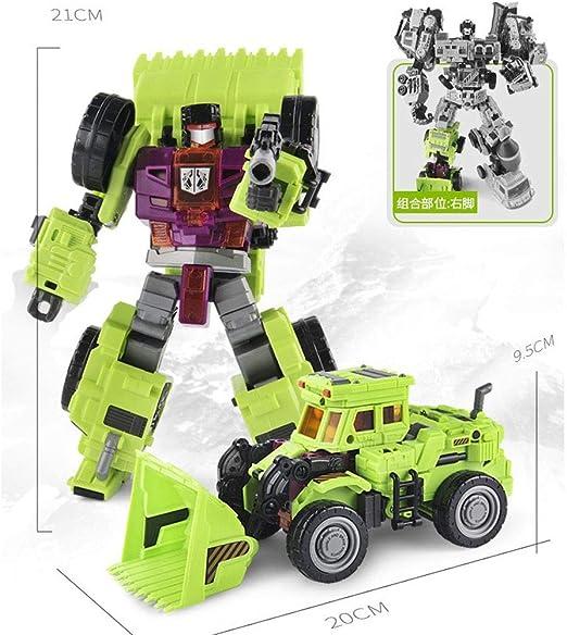 OPSLEA Niños Juguete Robot deformado Vehículos de Juguete Vehículo ...