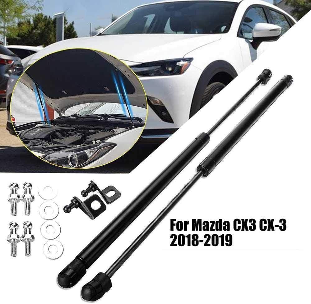 XGFCNB Automotor unterst/ützt hydraulische Stangenmontage der vorderen Motorhaube der Stange///f/ür Mazda CX3 CX-3 2018
