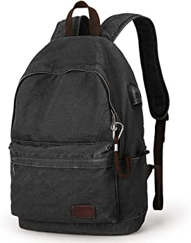 Muzee Lightweight Daypack Canvas Backpack