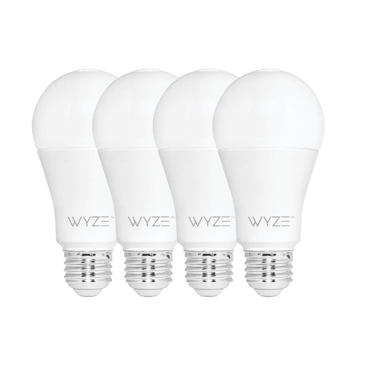 Wyze Bulb 800 Lumen A19 LED Smart Home Light Bulb, Adjustable white  temperature and brightness, works with Alexa and the Google Assistant, No  Hub
