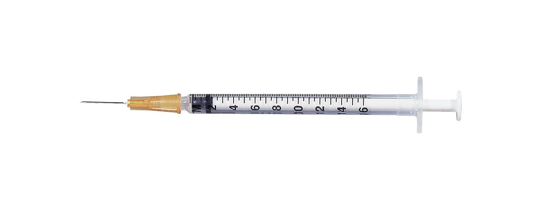 BD 512317 Yale Glass Reusable Syringe with Luer-Lok Metal Tip, 100mL  Capacity, 10mL Graduation