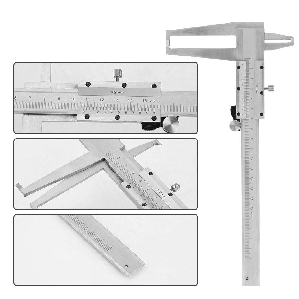 Acogedor Vernier Caliper, Carbon Steel Inside Groove Vernier Caliper, 9-150mm Inner Micrometer Measuring Tool Vernier Caliper